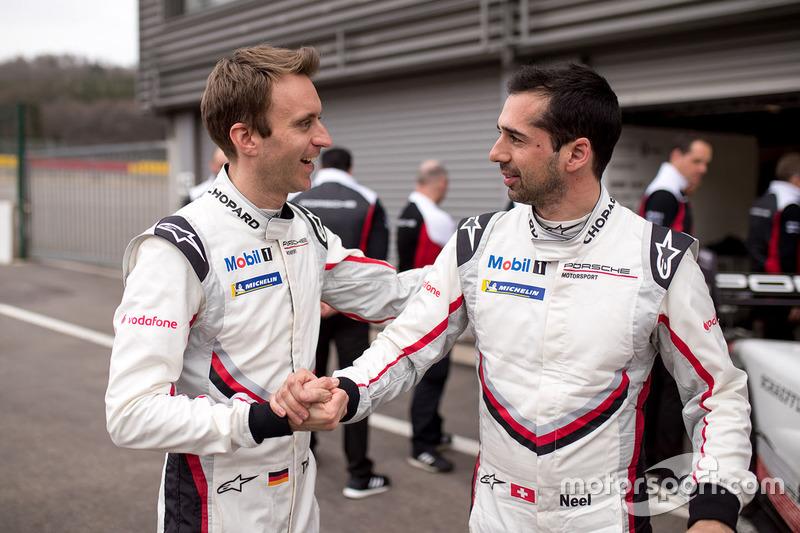Тімо Бернхард і Ніл Яні, Porsche Team