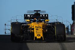 Carlos Sainz Jr., Renault Sport F1 Team RS17 con sensores