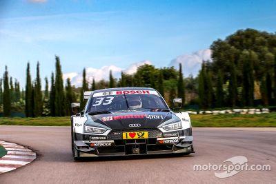 Audi RS 5 DTM Track test