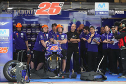Garage of Maverick Viñales, Yamaha Factory Racing