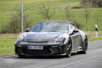 Porsche 911 Speedster Erlkönig