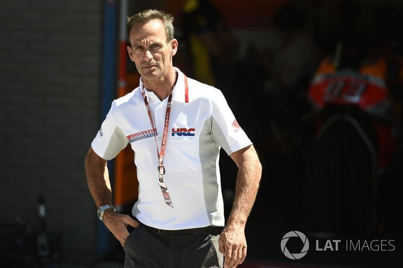 Альберто Пуч, керівник команди Repsol Honda Team