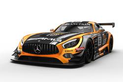#88 Mercedes-AMG Team Akka ASP Mercedes-AMG GT3: Raffaele Marciello, Tristan Vautier, Daniel Juncadella