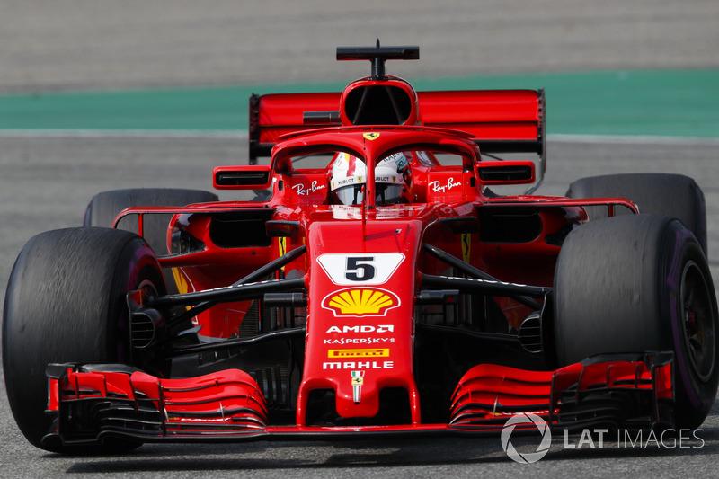 Sebastian Vettel - Ferrari: 6
