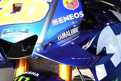 Maverick Viñales, Yamaha Factory Racing, dettaglio della carena