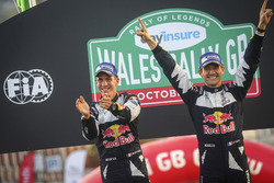 World Champions Sébastien Ogier, Julien Ingrassia, Ford Fiesta WRC, M-Sport