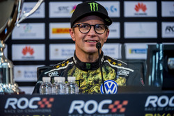 Petter Solberg in the press conference