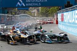 Nelson Piquet Jr., Jaguar Racing Andre Lotterer, Techeetah, Sébastien Buemi, Renault e.Dams