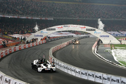 Jenson Button, Team GB races Emanuele Pirro, Team Monaco in KTM X-Bows