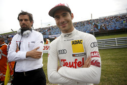 Miguel Molina, Audi Sport Team Abt Sportsline, Audi RS 5 DTM with his engineer