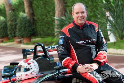Príncipe Albert II Venturi Fórmula E demostración