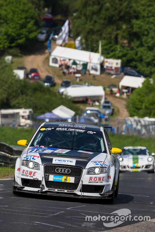 #113 Audi A4 quattro: Thomas Hanisch, Michael Eichhorn, Markku Honkanen, Bastian Goercke