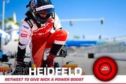 Nick Heidfeld, Mahindra Racing, locandina FanBoost