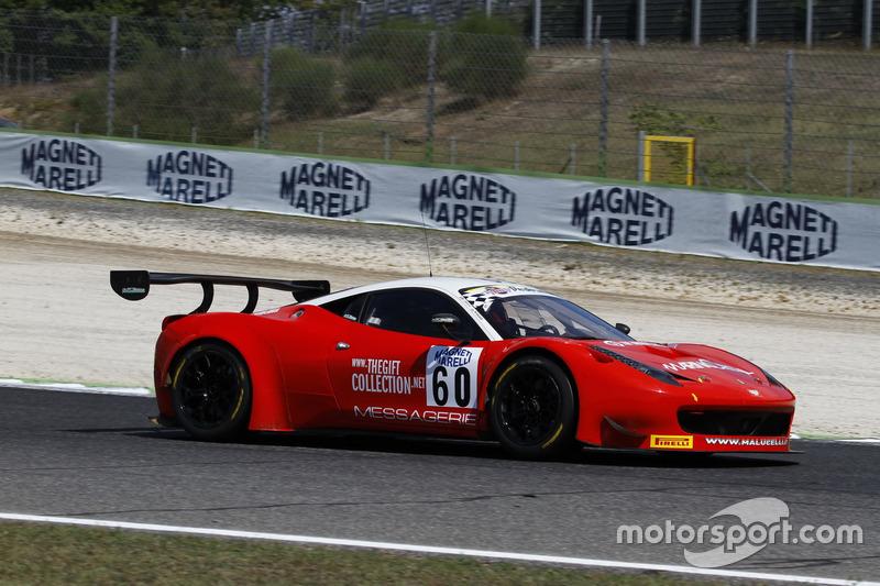 Ferrari 458 Italia-GT3 #60, Team Malucelli, Galassi-Tempesta