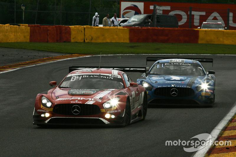 #88 AMG-Team AKKA ASP, Mercedes-AMG GT3: Tristan Vautier, Renger Van der Zande, Felix Rosenqvist