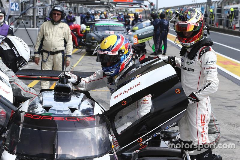 Timo Bernhard, Mark Webber, Porsche Team