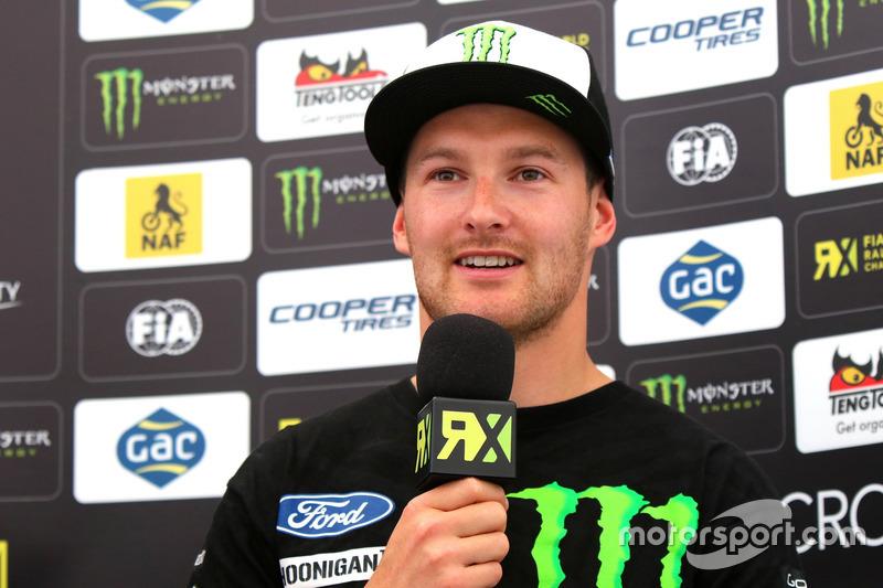 Press Conference: Andreas Bakkerud, Hoonigan Racing Division
