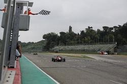 Sieg für Lance Stroll, Prema Powerteam, Dallara F312, Mercedes-Benz