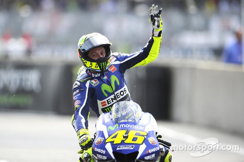 Valentino Rossi – 2. Platz: