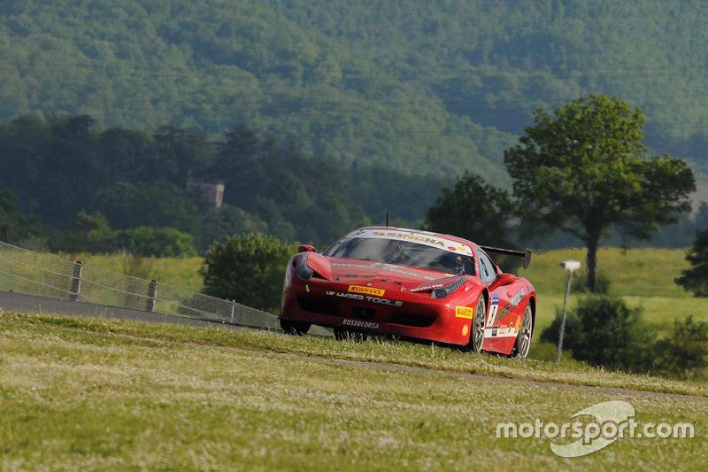 #9 Rossocorsa, Ferrari 458: Marcello Puglisi