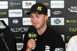 Reinis Nitiss, Münnich Motorsport in the press conference