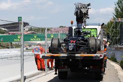 De McLaren MP4-31 van Fernando Alonso, McLaren na opgave