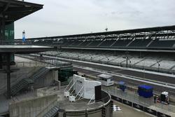 Blick über den Indianapolis Motor Speedway