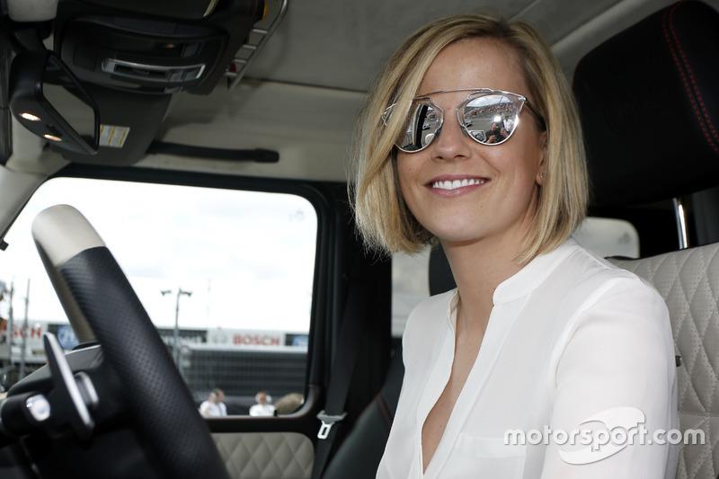 Susie Wolff, wife of Toto Wolff, Mercedes Motorsport director