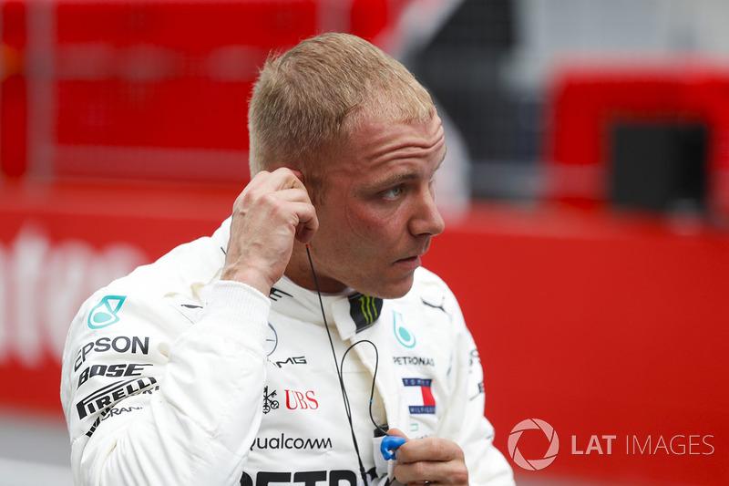 Pole pozisyonu galibi Valtteri Bottas, Mercedes AMG F1