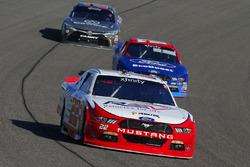 Sam Hornish Jr., Team Penske Ford and Ty Majeski, Roush Fenway Racing Ford