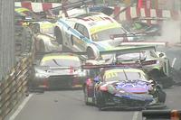 Startcrash beim GT-Weltcup in Macao