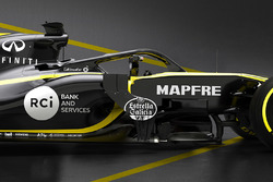 Renault F1 Team RS18 halo detay