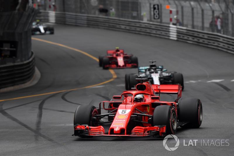 2. Sebastian Vettel, Ferrari SF71H