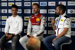 Press Conference with Pascal Wehrlein, Mercedes-AMG Team HWA, René Rast, Audi Sport Team Rosberg, Timo Glock, BMW Team RMG