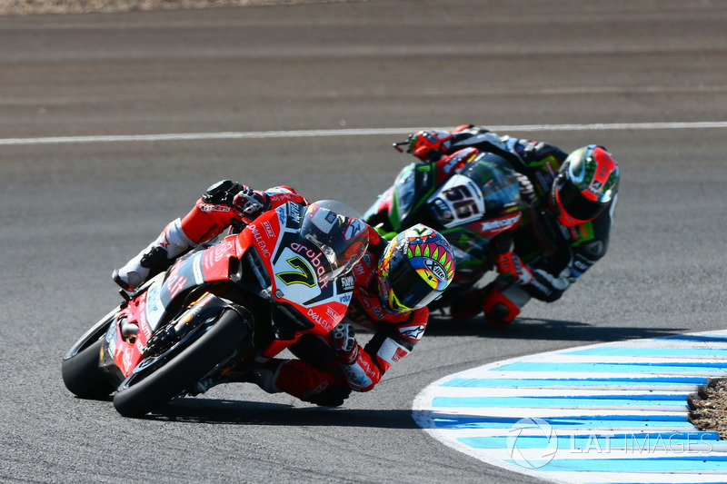Chaz Davies, Ducati Team, Tom Sykes, Kawasaki Racing