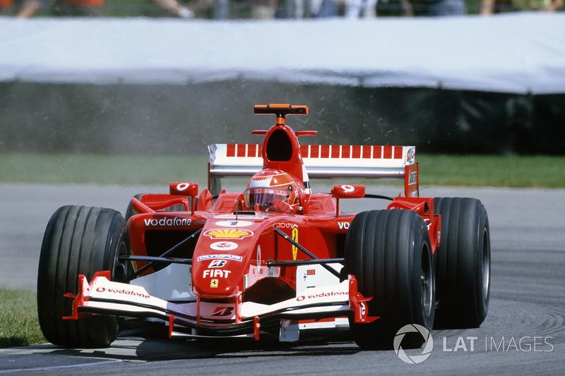 Yarış galibi Michael Schumacher, Ferrari F2005
