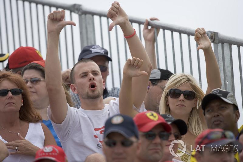 В Michelin попытались загладить вину перед фанатами, выкупив для них 20 тысяч билетов на этап следующего года, а также предложили компенсировать им расходы за испорченную гонку. Однако никто так и не понес наказания за фактически сорванный Гран При