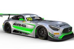 Decoración del Mercedes-AMG GT3 de Dani Juncadella