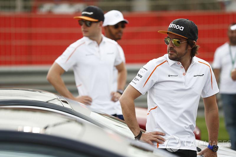 Фернандо Алонсо и Стоффель Вандорн, McLaren