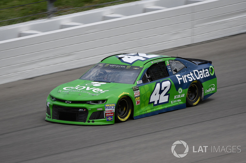 22. Kyle Larson, Chip Ganassi Racing, Chevrolet Camaro Clover