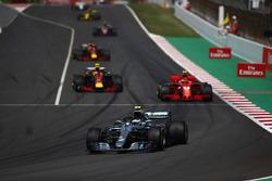Valtteri Bottas, Mercedes AMG F1 W09, Kimi Raikkonen, Ferrari SF71H, Max Verstappen, Red Bull Racing RB14, Daniel Ricciardo, Red Bull Racing RB14
