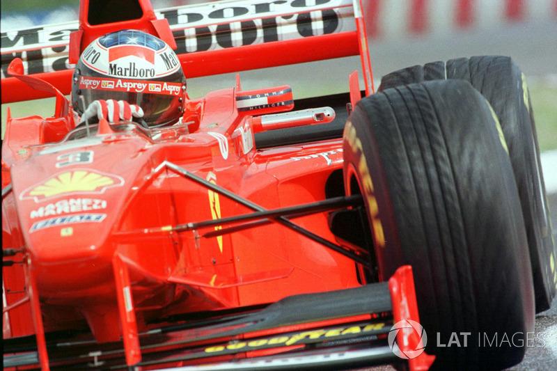 Михаэль Шумахер, Ferrari(86очков, шесть побед + пять подиумов)