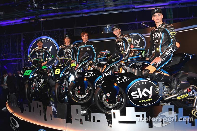 Presentazione dello Sky Racing Team VR46