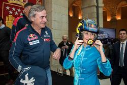 Carlos Sainz, Peugeot Sport, Cristina Cifuentes, Community of Madrid President