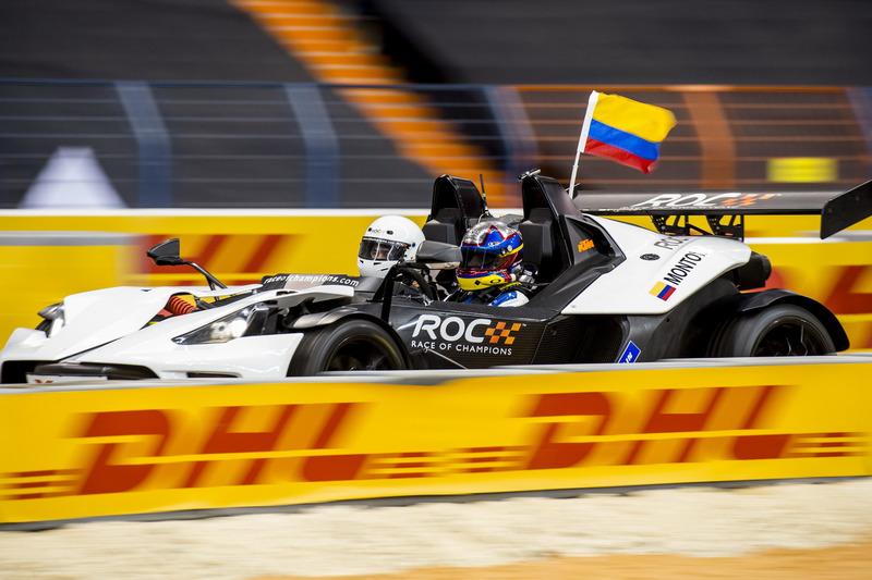 Juan Pablo Montoya, Team Latin America in de KTM X-Bow Comp R