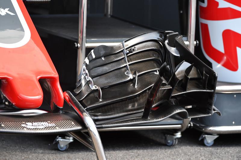 Alerón delantero del Haas F1 Team VF-18