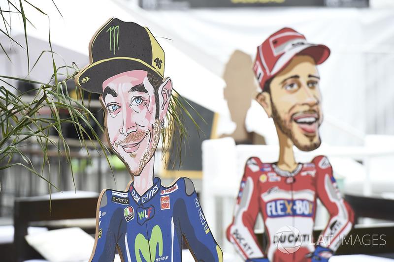 Valentino Rossi, Yamaha Factory Racing artwork