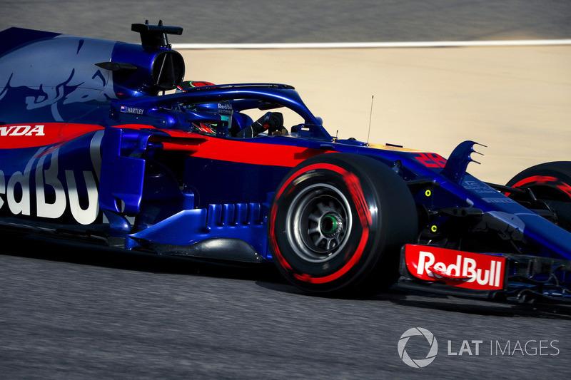 16 місце — Брендон Хартлі, Toro Rosso. Умовний бал — 7,814