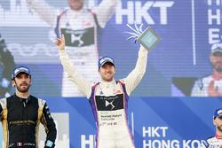 Podium: race winner Sam Bird, DS Virgin Racing, second place Jean-Eric Vergne, Techeetah