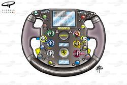 Ferrari F2004 steering wheel